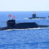 Kina kan have interesse i at sende ubåde ud i Det Arktiske Hav ud for Grønland, advarer det amerikanske forsvarsministerium i en ny rapport. Kina vil nemlig åbne militærbaser verden over.