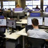Facebook har åbnet et valgkontor i Dublin. Her er 40 ansatte fra hele verden blevet udstationeret for at overvåge europaparlamentsvalgets gang.