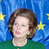 Margaret Thatchers kendte udtryk »Mickey Mouse parlament« er stadig meget rammende om nogen dele af EU, skriver Asger Aamund, »Det ligner fuldstændigt et parlament, men er som lovgivende forsamling en illusion.« Arkivfoto: Chrostophe Simon / Ritzau Scanpix