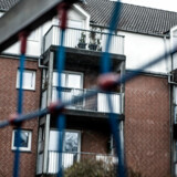 De tre drab fandt sted i dette boligkompleks på Vangehusvej i København.
