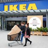 IKEA har en strategi om at blive klimapositiv i 2030. Samtidig er målet at inspirere en milliard mennesker til at leve mere klimavenligt. Arkivfoto: Wolfgang Rattay/Ritzau Scanpix