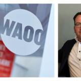 Waoo tjener gode penge og henter masser af nye kunder men har måttet tage et engangssmæk, fordi selskabet mister eneretten på mange af de lynhurtige fibernet, som nu åbnes for også Waoos konkurrenter. Topchef Jørgen Stensgaard forventer dog yderligere fremgang i år. Arkivfotos: Morten Degn, Waoo, og Sofie Matthiasen