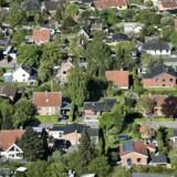 Nye tal fra Boligsiden viser, at huspriserne stiger i alle regioner. Men der er store forskelle på, hvor meget man i gennemsnit skal betale per kvadratmeter hus rundt i landet. Arkivfoto: Mathias Løvgreen Bojesen/Ritzau Scanpix