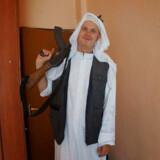 Michael Skråmo rejste til Syrien for at kæmpe for Islamisk Stat i 2014 sammen med sin svenske kone. Parret efterlod syv børn, der er mellem et og otte år gamle.