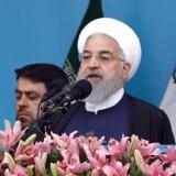 Irans præsident Rouhani har givet EU og omverdenen en deadline på to måneder: Fiks atomaftalen, eller vi trækker os fra yderligere dele af aftalen. Foto: Ritzau/Scanpix