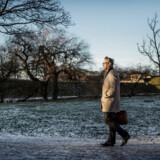 Anders Dam, ordførende direktør i Jyske Bank, er bekymret for, hvad der sker med verdensøkonomien, når renterne kører opad.