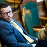 Liberal Alliances finansordfører, Joachim B. Olsen, kalder Venstres nye tiltag for »respektløst over for skatteborgerne«. Arkivfoto: Ólafur Steinar Gestsson