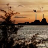 Danmark formåede blot at reducere CO2-udslippet med 0,2 procent i 2018 og ligger dermed under EU-landenes gennemsnitslige CO2-reduktion i 2018. Arkivfoto: Kasper Palsnov/Ritzau Scanpix