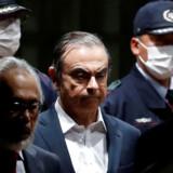 Tidligere Nissan-topchef Carlos Ghosn blev første gang anholdt i Tokyo i november 2018 anklaget for skattefusk. I marts blev han løsladt mod kaution, men allerede i begyndelsen af april røg han bag tremmer igen, efter at der var blevet fundet afgørende beviser mod ham i Beirut.
