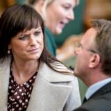 Sophie Løhde (V) genkender ikke billedet af, at Venstre efterligner Socialdemokratiets politik.