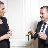 Statsminister Lars Løkke Rasmussen (V) og Mette Frederiksen (S) kunne hurtigt enes om et regeringsgrundlag, hvis de kun tog udgangspunkt i deres økonomiske valgprogram.