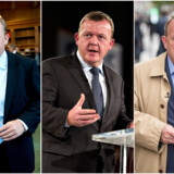 Da Lars Løkke Rasmussen (V) i 2009 første gang blev statsminister (til venstre), var det med finanskrisen som bagtæppe, og Løkke bebudede smalhals. Som oppositionsleder (i midten) ønsker han i 2012 nulvækst i den offentlige sektor. I år fører han valgkamp (til højre) på budskabet »samme velfærd som Socialdemokratiet – bare uden skattestigninger«.