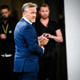 Anders Samuelsen (LA) ankommer til valgkampens første partilederrunde på DR på Christiansborg, tirsdag den 7. maj 2019.