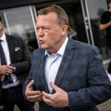 Berlingske fangede statsminister Lars Løkke Rasmussen efter hans besøg på Zealand Business College i Næstved. Her afviste hans Dansk Folkepartis krav om asylstop i næste valgperiode.