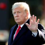 USA's præsident, Donald Trump, skriver på Twitter, at der stadig er grund til at fortsætte handelssamtalerne med Kina på trods den seneste optrapning af handelskonflikten. (Arkivfoto). Cathal Mcnaughton/Reuters
