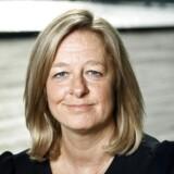 TDCs topchef, Allison Kirkby, er tilfreds med årets første tre måneder trods tilbagegang og frafald af kunder. Hun tror på, at det vil ændre sig, når TDC får bygget sine net ud. Arkivfoto: Niels Ahlmann Olesen
