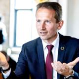 Kristian Jensen (V) ser ikke for sig, at en SV-regering kan blive en realitet.