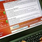 Et nyt sikkerhedshul i Windows kan udvikle sig til en trussel som computervirussen Wannacry, der i 2017 hærgede og kodede vigtige filer på omkring 200.000 computere verden over og krævede løsepenge for at udlevere låsekoden, advarer Microsoft. Arkivfoto: Ritchie B. Tongo, EPA/Ritzau Scanpix