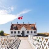 Løgstørs vartegn, Limfjordsmuseet, der ligger ved Frederiks den 7.s kanal og og fjorden.