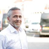 Anders Samuelsen fra Liberal Alliance ankommer til debatprogrammet Højlunds Forsamlingshus i Aabenraa onsdag den 15. maj 2019