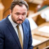 Dan Jørgensen (S) under åbningsdebatten i Folketinget på Christiansborg i København torsdag 4. oktober 2018.