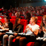 Claus Meyer rykker ind i Cinemateket med to nye spisesteder. Her et billede fra eventet Edible Cinema i Cinemateket, hvor man smager sig gennem en film.