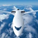 SAS og Airbus' bud på, hvordan et nyt eldrevent fly kunne se ud om 10-15 år.