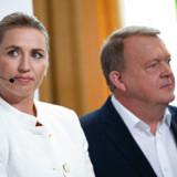 Socialdemokratiets formand, Mette Frederiksen og statsminister Lars Løkke Rasmussen mødtes onsdag til duel i Aabenraa.