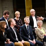 De 10 spidskandidater var også i politisk duel onsdag aften. Her mødtes de i en DR-debat i Københavns Nordhavn.