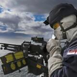 »Vi er med i alt, undtagen EU-forsvarssamarbejdet, men går vi med, får vi endnu mere sikkerhed for pengene.« Her billede fra det britisk ledede samarbejde, Joint Expeditionary Force. Foto: JIM GIBSON RNR / Ritzau Scanpix