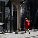 Theresa May meddelte fredag, at hun træder tilbage som formand for de britiske konservative og snart som britisk premierminister. Foto: Hannah Mcay/Reuters/Ritzau Scanpix