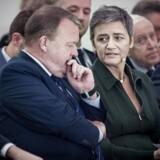 »Det virkelig interessant er selvfølgelig, at Margrethe Vestager har en kæmpe chance. Men det er klart, at sandsynligheden er nul, hvis ikke Lars Løkke indstiller netop hende, når stats- og regeringscheferne mødes i dag, når valgresultatet til Parlamentet er kendt,« skriver Stine Bosse.