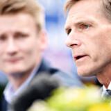 DF-formand Kristian Thulesen Dahl og partiets spidskandidat ved EP-valget, Peter Kofod, ser ud til at få et dårligt valg.