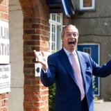 Nok engang kan Nigel Farage juble over at være den helt store vinder ved et britisk europaparlamentsvalg.
