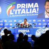 Det stærkt EU-kritiske Lega parti i Italien fik et kanon EP-valg over weekenden. Foto: Reuters/Guglielmo Mangiapane