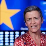 Margrethe Vestager var med til af fejre EP-valget i Europa-Parlamentet i Bruxelles søndag den 26. maj 2019. Vestagers gruppe, ALDE, fik et usædvanligt godt valg. Nu går hun efter europæisk toppost.