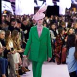 Klassisk Mulberry. Downton Abbey møder minimalisme. Fra modeugen i London i efteråret.