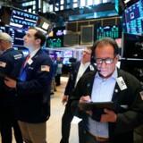Der er meget at holde øje med for aktiemarkedet i øjeblikket. Handelskrig, Italien, økonomisk vækst er bare nogen af de ting, investorerne er bekymrede for. Foto:Spencer Platt/Getty Images/AFP/Ritzau Scanpix