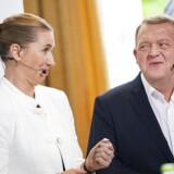 Om Socialdemokratiet og Venstre skal danne par i dansk politik kom endnu engang på dagsorden, da de to partilederes mødtes i en ordduel i Folkehjem 22. maj.