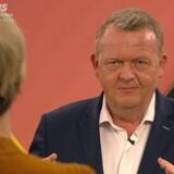 »Uanset om det bliver blåt eller rødt i morgen, altså, så bliver det her svært,« sagde statsminister Lars Løkke Rasmussen (V), da han tirsdag aften blev bedt om at forklare sit ønske om en regering over midten i TV2s partilederdebat.
