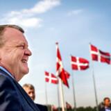 Lars Løkke Rasmussen holder grundlovstale i Slangerup.