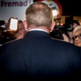 Lars Løkke Rasmussen efter 'Det sidste ord' partilederdebat i TV 2s studie på Københavns Hovedbanegård tirsdag den 4. juni 2019.