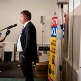 Hverken Rasmus Paludans Stram Kurs (foto) eller Kristendemokraterne nåede op over spærregrænsen, men begge partier har sikret sig et årligt millionbeløb til at fremme deres politiske arbejde.