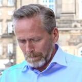 En rørt Anders Samuelsen annoncerede torsdag sin afgang som Liberal Alliances formand under et pressemøde på Christiansborg.