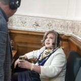 Den nye DAB-kanal er blevet set som en redningskrans til Radio24syv, men ifølge eksperter er spørgsmålet om oprettelsen langt fra afklaret. Arkivbillede: Radio24Syvs Kirsten Birgit Schiøtz Kretz Hørsholm under livetransmisison under Folketingsvalget.