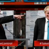 I 2016 førte de Storbritannien ud af EU. Michael Gove (tv.) og Boris Johnson var ledere af Leave-kampagnen. Nu er de rivaler i kampen om at blive formænd for Det Konservative Parti. Begge er fra Oxford.