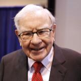 Warren Buffett til sit investeringsselskab Berkshire Hathaways generalforsamling i maj i Omaha, Nebraska.