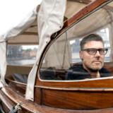 Timm Vladimir bruger meget tid på vandet i sin båd, som han gerne sejler ud til Trekroner Fort for at tilbringe dagen der med sin familie.
