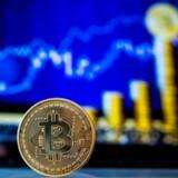 Bitcoin fortsætter med at stige, og har nu generobret 9000 dollar. Foto: AFP/Jack Guez/Ritzau Scanpix