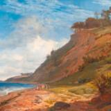Statens Museum for Kunst viser i sin guldalderudstilling bl.a Johan Thomas Lundbyes kendte malerei, »En dansk kyst«, motiv fra Kitnæs ved Roskilde Fjord, fra 1843.